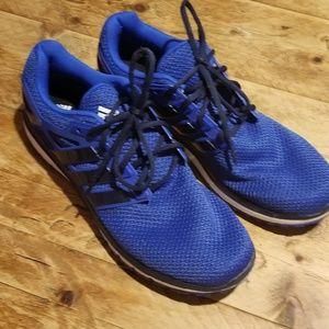 Adidas men's blue tennis shoes